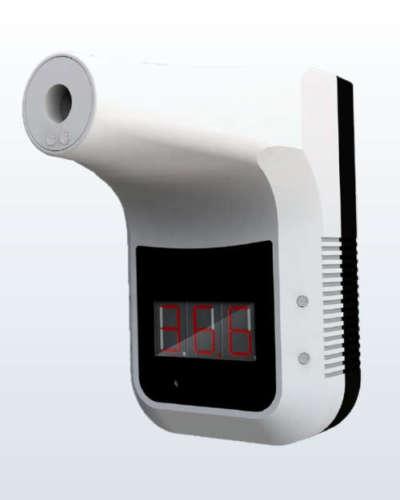 termometro infrarossi a parete temperatura corporea